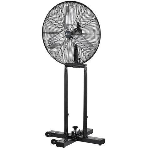 industrial floor fans home depot commercial electric 24 in 2 in 1 pedestal floor fan sfsi