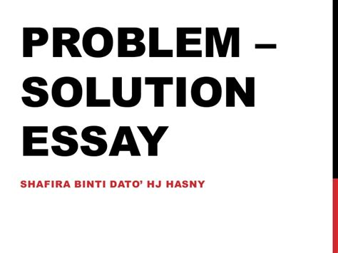 problem solving essay sles problem solution essay sles exles 28 images topic for