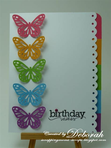 Handmade Cards With Butterflies - pin by harris on card paint