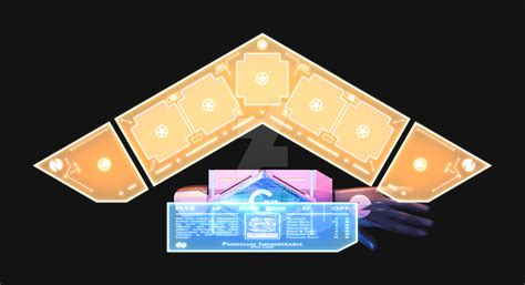 Yugioh Duel Disk Papercraft - duel disk yu gi oh x hyperdimension neptunia by pencil x