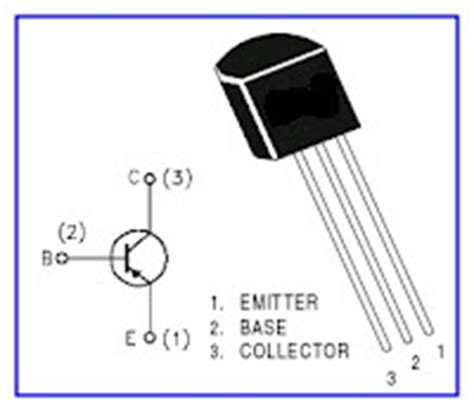 diodes led brochage transistor bc558 ecured
