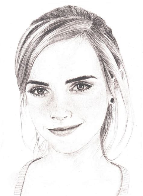 pencil drawing person watson drawing by style deviantart on