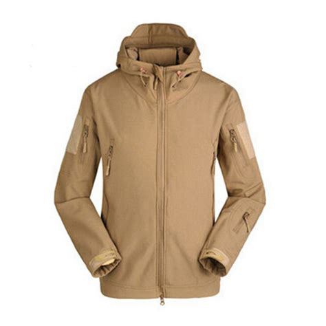 Impor Jaket Army Tad Gear Tactical Brown esdy soft shell tad sharkskin waterproof tactical jacket hoodie outdoor coat ebay