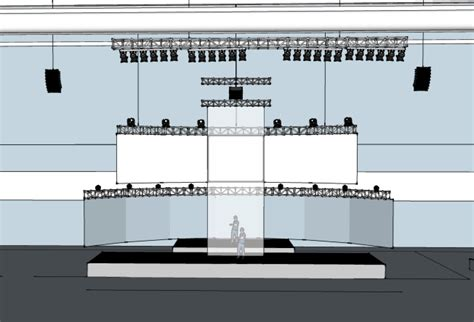 sketchup layout margins the process behind a multiscreen video setup triplewide media