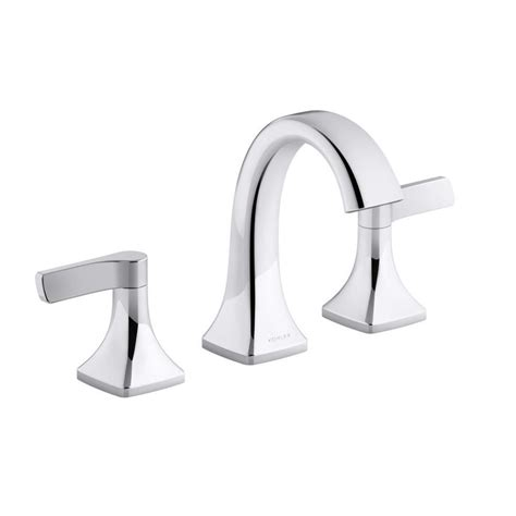 bathroom sink faucet doesn t work shop kohler maxton widespread bathroom sink faucet polished chrome at lowes