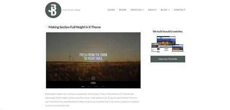 change page template how to change default page template in x theme pagecrafter