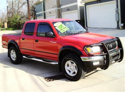 Toyota Tacoma For Sale In Houston 2002 Toyota Tacoma Prerunner V6 For Sale In Houston Tx