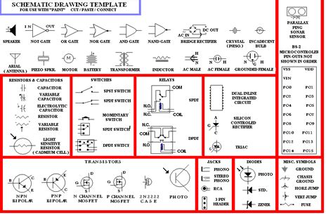 schematic drawing template for paint parallax forums