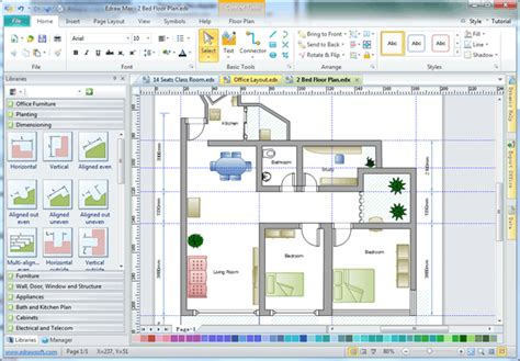 free architect drawing software building architecture software