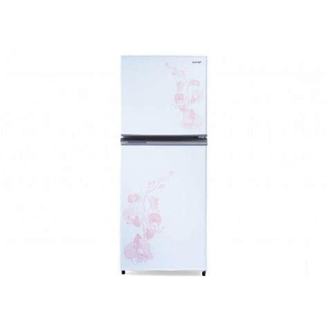 Lemari Es Display jual kulkas sharp dua pintu sj225md putih harga murah