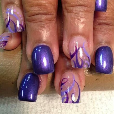 purple pattern nails purple nail designs nails and more pinterest design