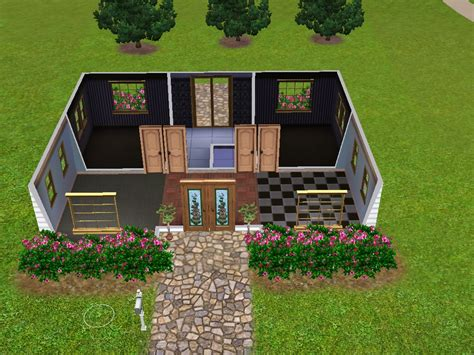 Sims 3 Small House Plans Sims 3 Mansion Floor Plans