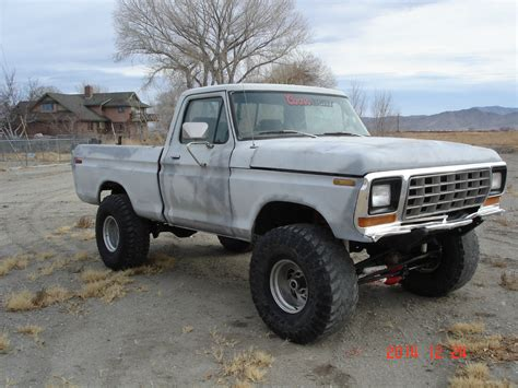 f150 short bed 1979 ford f150 short bed 4x4 running project rare lifted