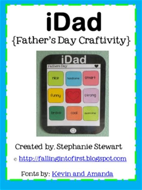 Idad Card Template by S Day Craft Letter Great Project For The End Of