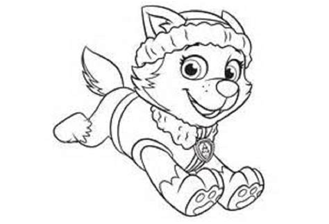 paw patrol coloring pages free everest paw patrol everest free coloring pages