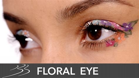 Eyeliner Flower flower eyeliner makeup tutorial bay