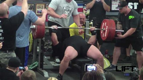 eric spoto bench eric spoto world record bench attempts 716 lbs raw youtube