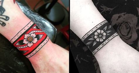 12 classy cuff tattoos tattoodo tattoo and body art