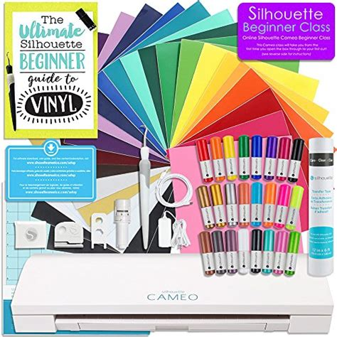 Blademanual Blade Untuk Silhouette Cameo 23 silhouette cameo 3 bluetooth starter bundle with 24 oracal 651 sheets transfer paper guide