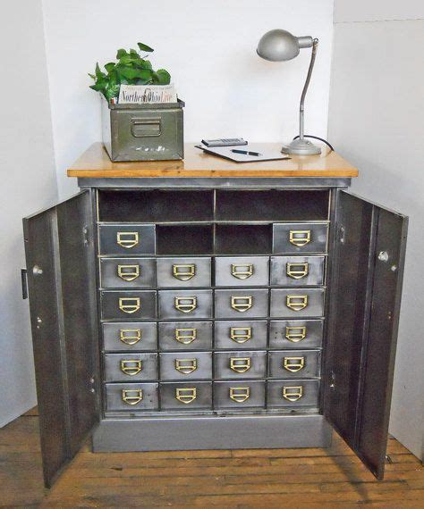 vintage metal drawer storage cabinet vintage metal organizer parts cabinet 22 drawers