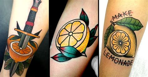 lemon tattoo 11 lucious lemon tattoos tattoodo