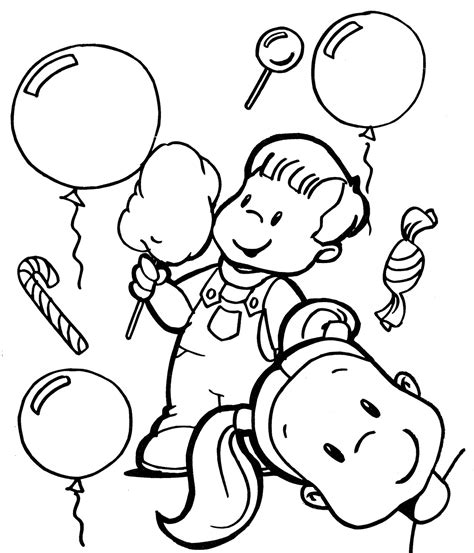 Children Day Coloring Pages Of Kids Enjoying Coloring Pages Day Coloring Pages