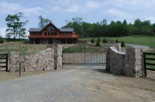 Great Patios crescent dc beautiful country entrance way and gate