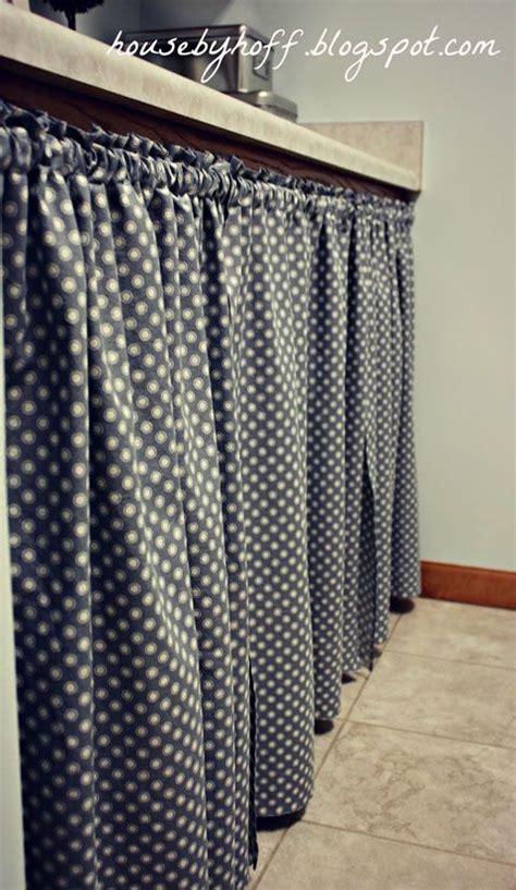 under bathroom sink curtain 17 best images about curtain kitchen on pinterest