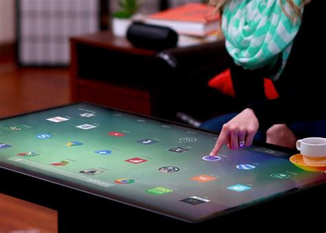 Smart Table by 46 Inch Ideum Duet Windows 8 Smart Table Launches Next