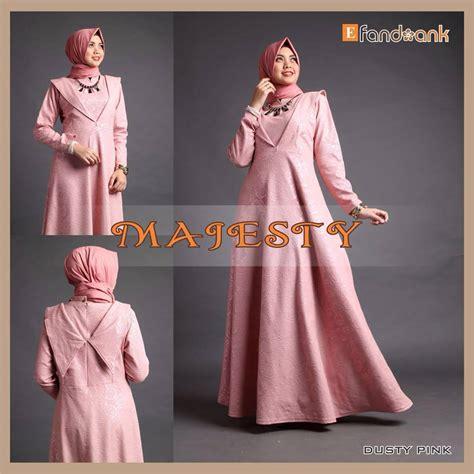 Baju Muslim Pasangan Azzura 335 34 Dan 335 35 majesty d pink baju muslim gamis modern