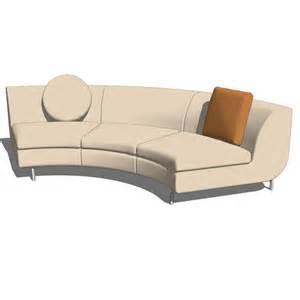 circle sofa dubuffet sofa system part 3 3d model formfonts 3d models