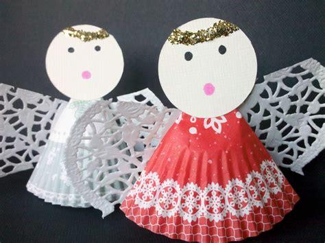 Paper Cupcake Craft - paper muffin liner craft insting blogs