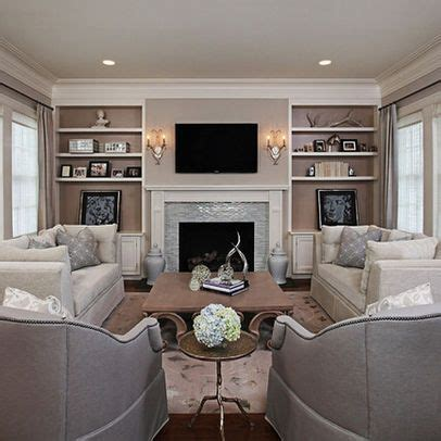 family room furniture layout love this wall becomes the feature of the living room for the home pinterest