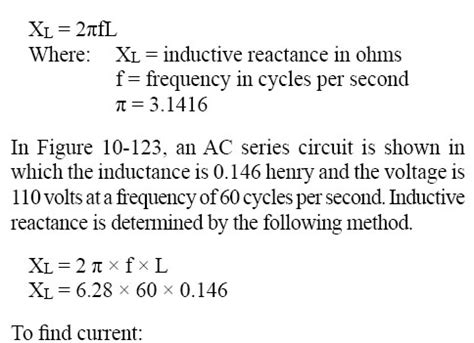 inductive reactance with frequency the inductive reactance will likewise increase and present more opposition to current in the