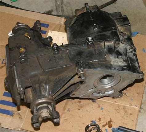 Jeep Selec Trac Transfer Removal Disassembly Assembly And Re Installation Of A