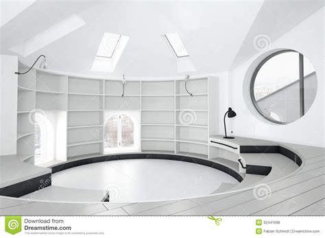 circular room empty library room royalty free stock photos image 32441698