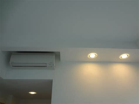 Ceiling L by Air Con Pelmet False Ceilings L Box Partitions