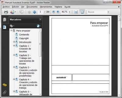 manual autodesk inventor 2016 pdf espanol manual de autodesk inventor 2009 dise 209 o mec 193 nico y cad