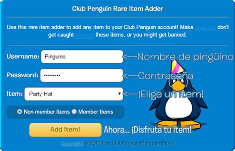 club penguin item adder 2015 video breakcom club penguin item adder agrega todo tipo de items a tu