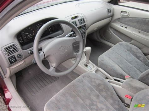 1998 Toyota Corolla Interior by Gray Interior 1998 Toyota Corolla Le Photo 57259751