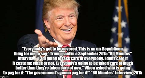 donald trump quotes on healthcare pax on both houses trump restates admiration for single