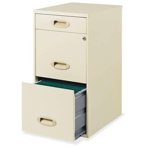 hirsh 3 drawer steel file cabinet 14 quot x 18 quot x 27 3 quot 3
