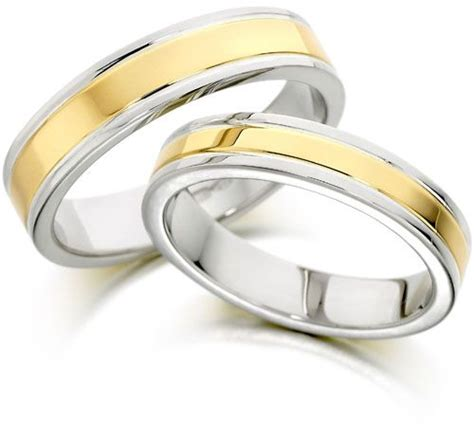 18k white gold two tone finish wedding band ring in size 20 12 price review and buy in saudi