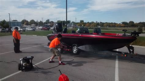 cabela s boat wash sea scout group holds boat wash station at local fishing