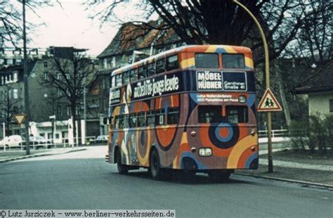 gefährt wagen autobustyp d2u berliner verkehrsseiten