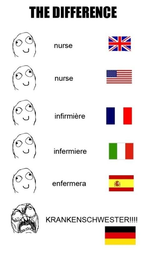Meme Language - language difference meme memes