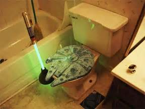 wars bathroom ideas wars bathroom toilet plunger millennium falcon