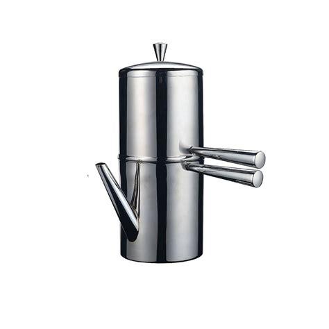Asli Murah Bialetti Moka Induction Light Gold 6 Cups caffettiera napoletana con becco in acciaio inox