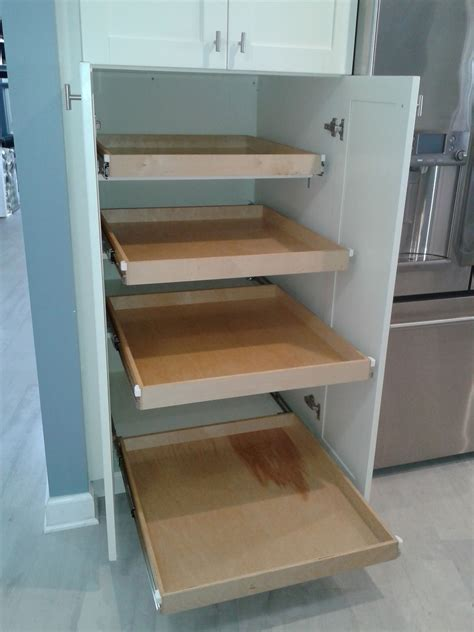 what are two cabinet level pullout shelves photo gallery updated designs