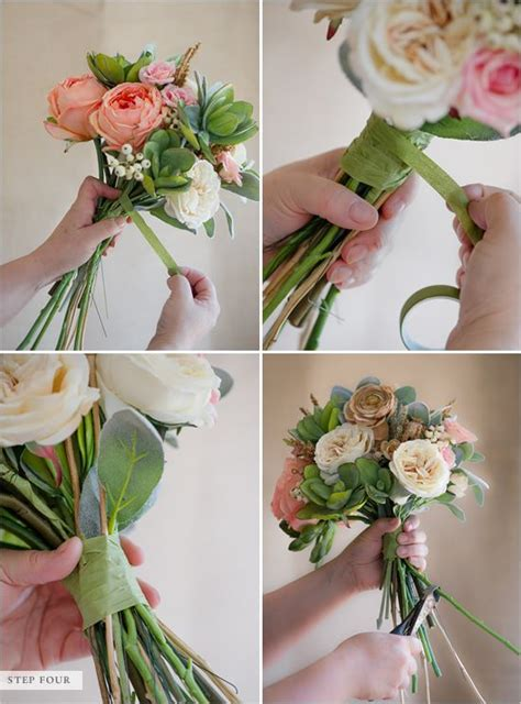 How To Make Artificial Flowers With Paper - best 25 flower bouquets ideas on